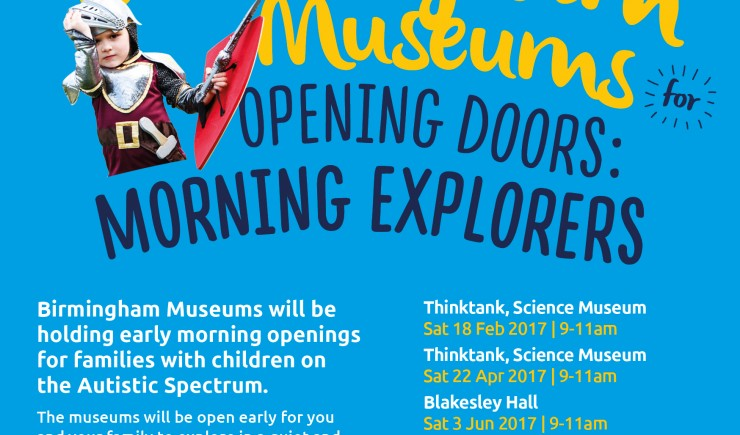 Birmingham Museums Trust is running its next Morning Explorers session at Blakesley Hall on Saturday 3rd June.