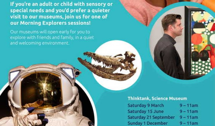 Morning Explorers - Autism Friendly Activities at Birmingham Museums